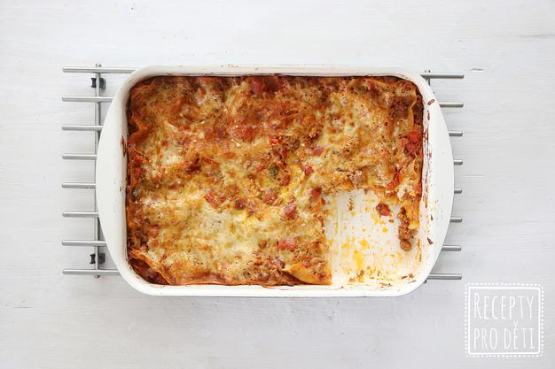 Jak na lasagne s rajčaty a cuketou