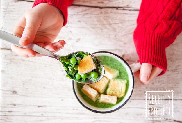 Rychlá krémová polévka k večeři