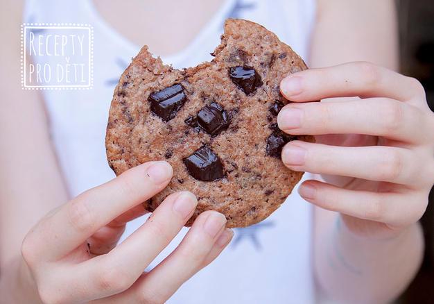 Čokoládové sušenky bez vážení