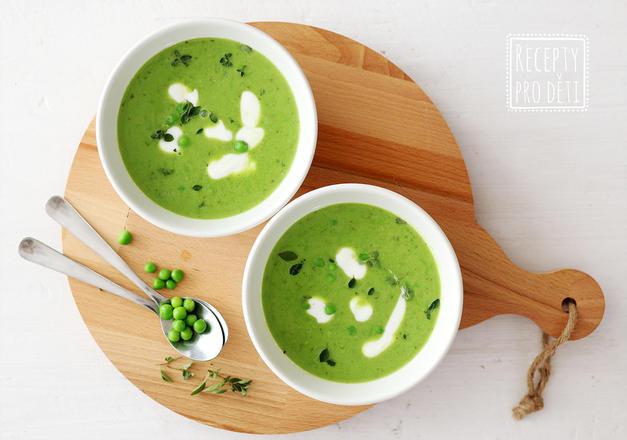 Nejjednodušší hrášková polévka? Hotová do 10 minut!