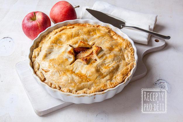 Apple pie aneb Víkendový jablečný koláč z křehkého těsta