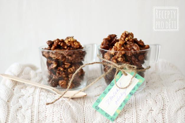 Karamelizované ořechy jako nejlepší sladká svačinka!
