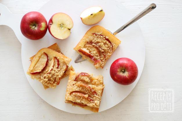 Sladký podzim: rychlý špaldový koláč s jablky (Pozor, děti ho milují!)