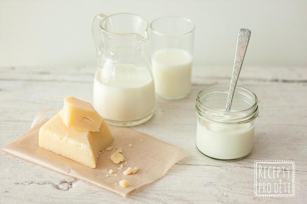 Mléčné výrobky děti potřebují. Odkdy je ale smí?