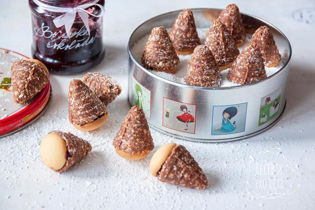 Nepečené cukroví: Vosí hnízda pro děti