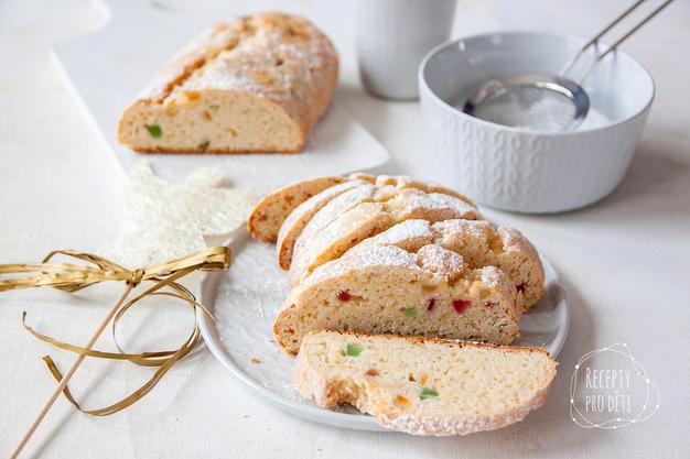 Vánoční cukroví: tvarohová štola