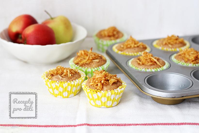 Jablečné muffiny ke svačině