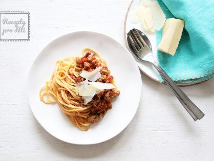 Jak na těstoviny s rajčatovou omáčkou a mletým masem