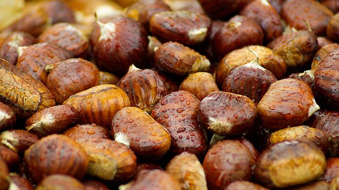 Jedlé kaštany: zdravá zimní dobrota